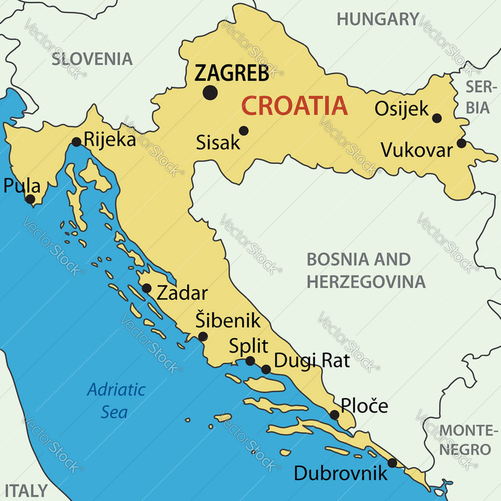 Trò chơi vương quyền ở Croatia - Ảnh 2.