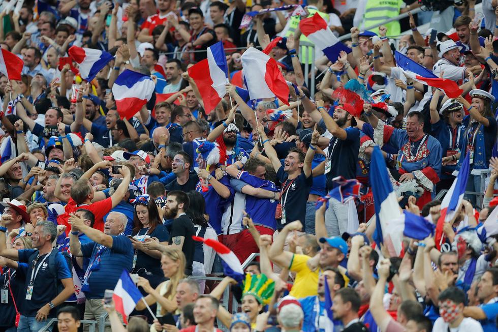 Những hình ảnh ấn tượng nhất đêm chung kết Croatia - Pháp - Ảnh 11.