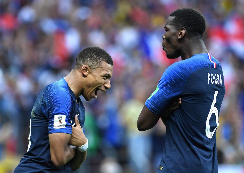 Những hình ảnh ấn tượng nhất đêm chung kết Croatia - Pháp - Ảnh 18.