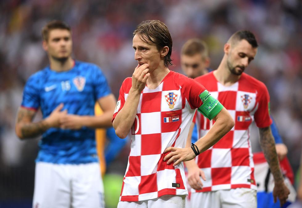 Những hình ảnh ấn tượng nhất đêm chung kết Croatia - Pháp - Ảnh 20.
