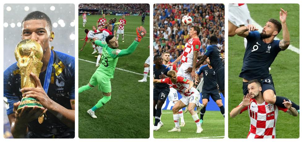 Những hình ảnh ấn tượng nhất đêm chung kết Croatia - Pháp - Ảnh 1.