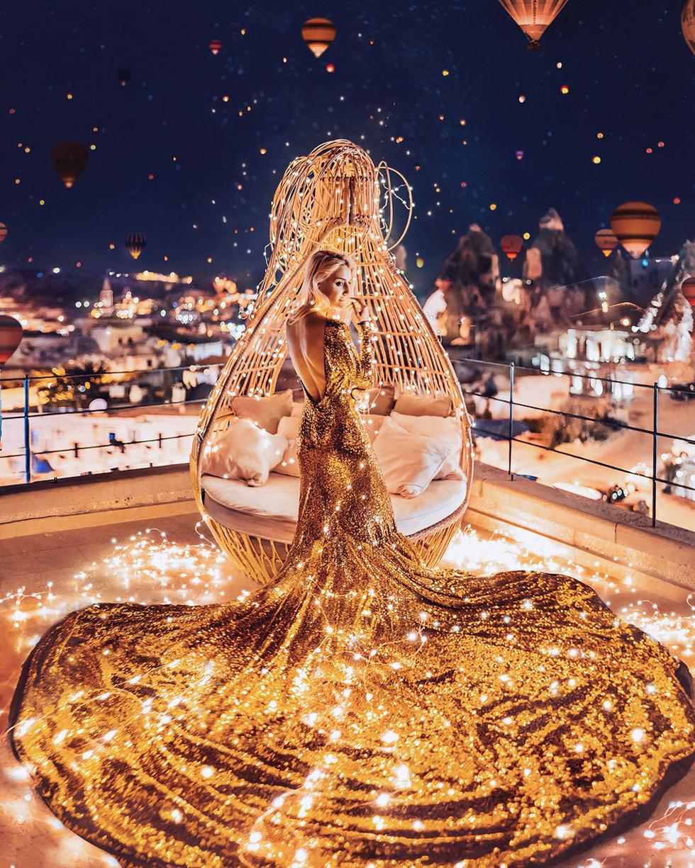 Cô gái lang thang khắp thế giới chụp ảnh đầy biến ảo - Ảnh 3.