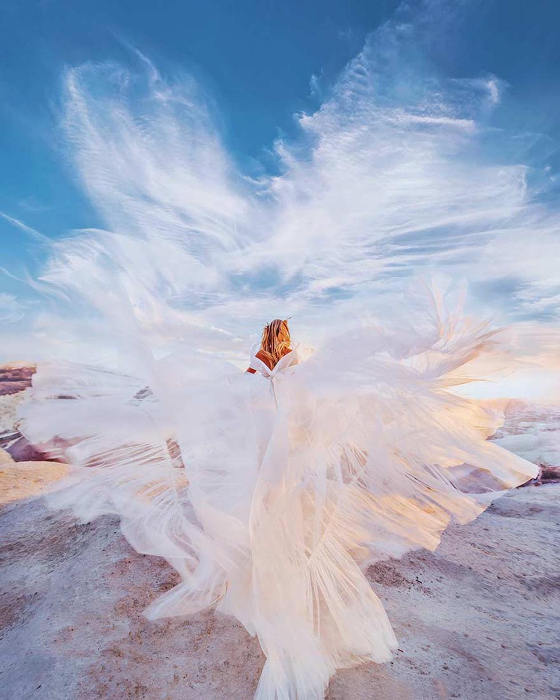 Cô gái lang thang khắp thế giới chụp ảnh đầy biến ảo - Ảnh 4.