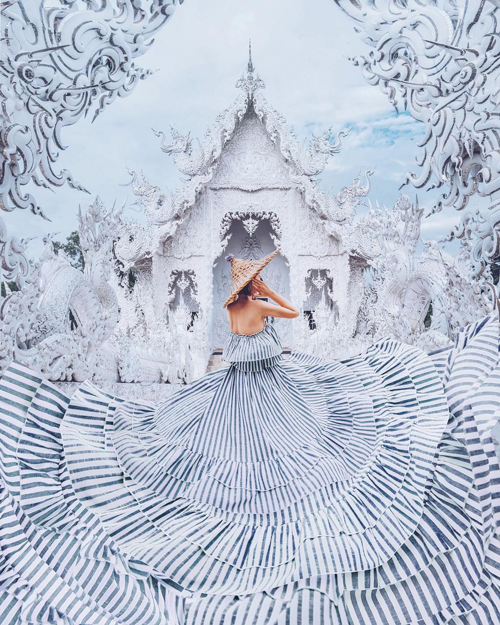 Cô gái lang thang khắp thế giới chụp ảnh đầy biến ảo - Ảnh 6.