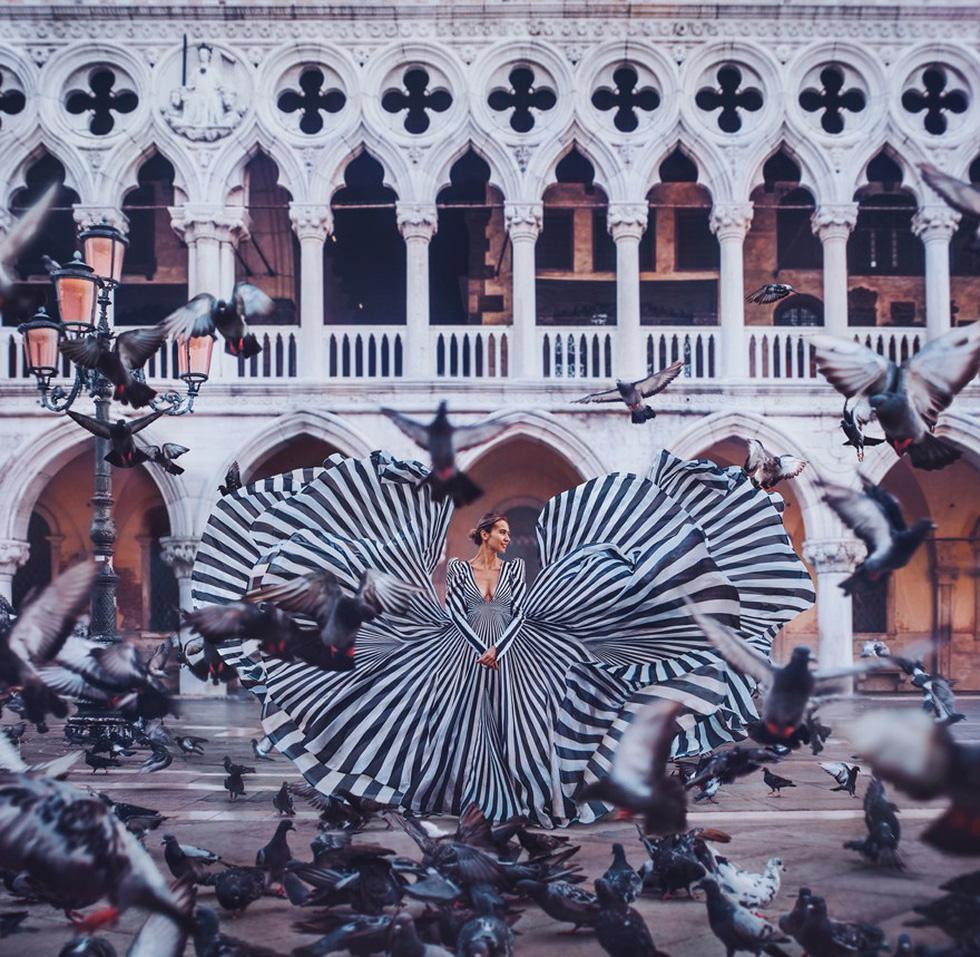 Cô gái lang thang khắp thế giới chụp ảnh đầy biến ảo - Ảnh 7.
