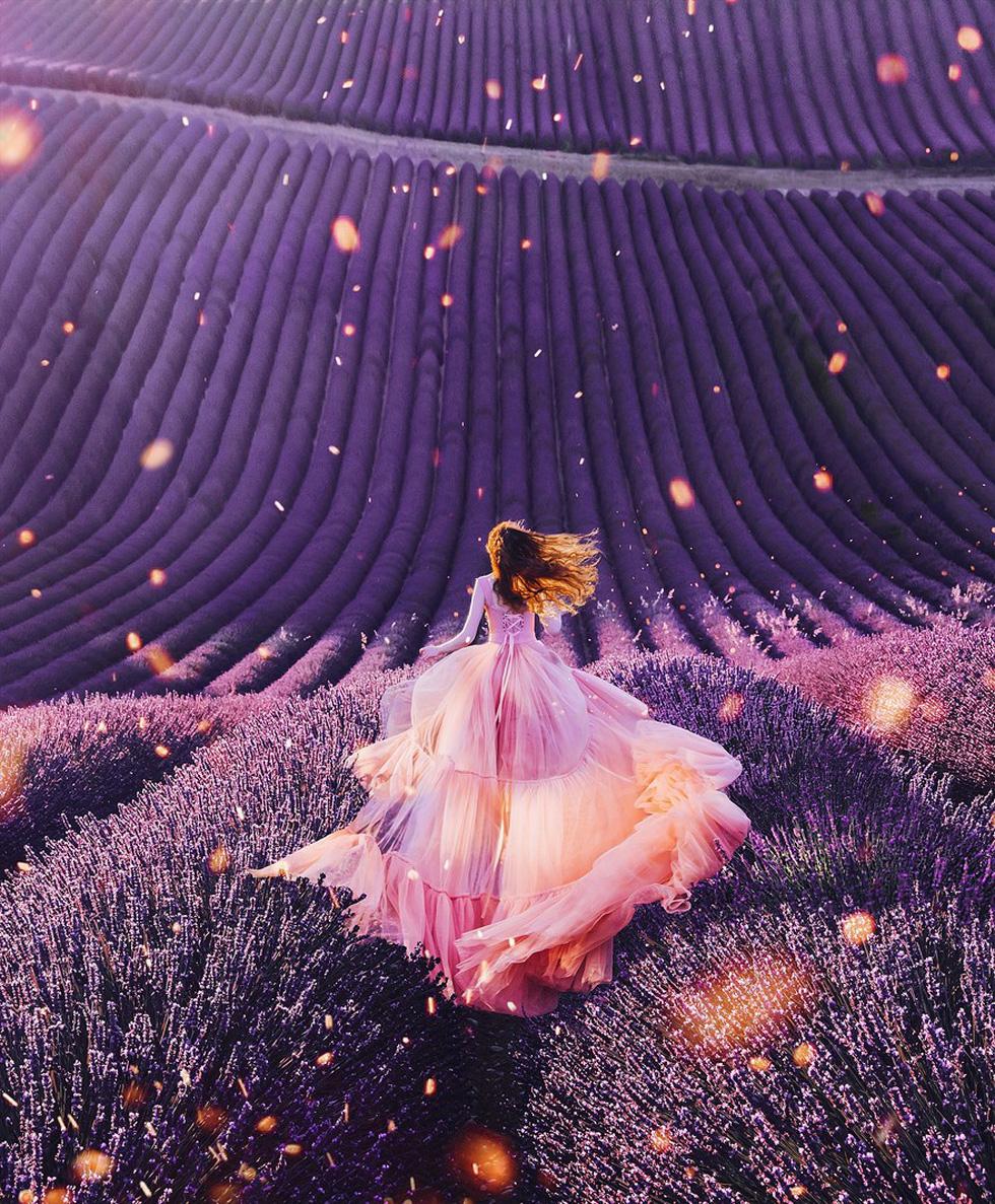 Cô gái lang thang khắp thế giới chụp ảnh đầy biến ảo - Ảnh 10.