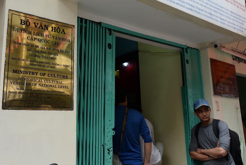 Khui hầm chứa vũ khí giữa Sài Gòn bỏ dở từ năm 1968 - Ảnh 2.