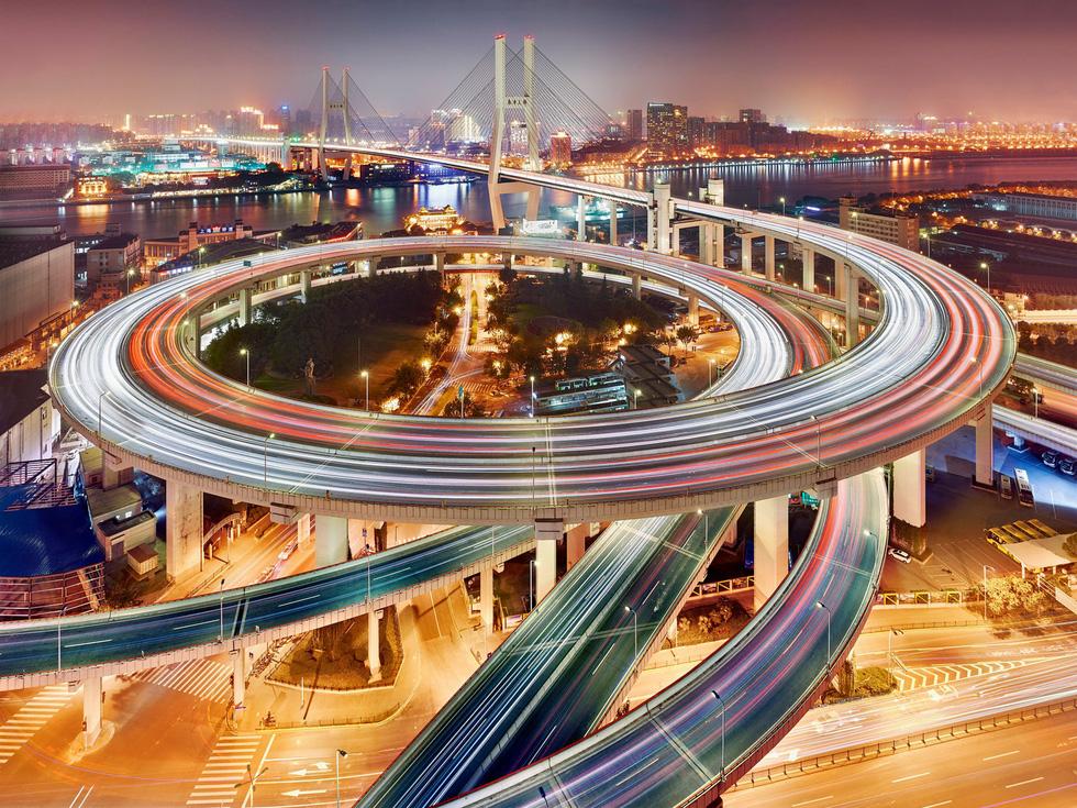 Ngắm ảnh các thành phố huyền thoại và rực rỡ về đêm - Ảnh 9.