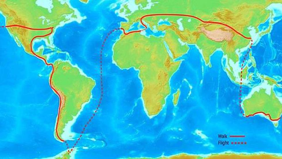 Chàng trai dắt chó đi bộ vòng quanh thế giới - Ảnh 3.