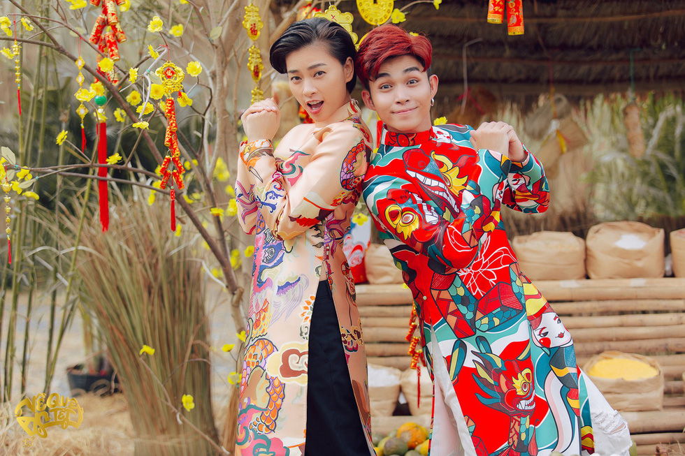 Jun Phạm bắt tay Mew Amazing ra mắt MV Về quê ăn Tết - Ảnh 3.