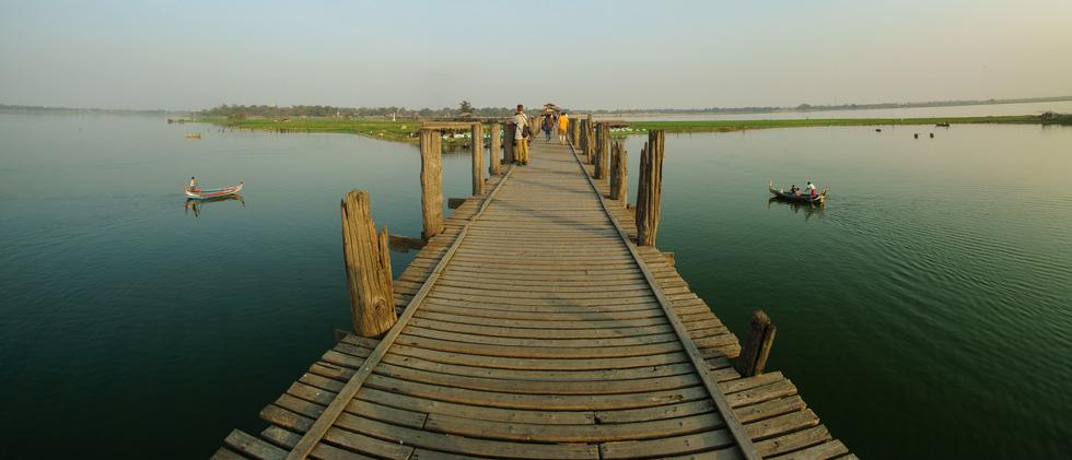 Đi Mandalay ngắm hoàng hôn ở cầu U Bein - Ảnh 13.