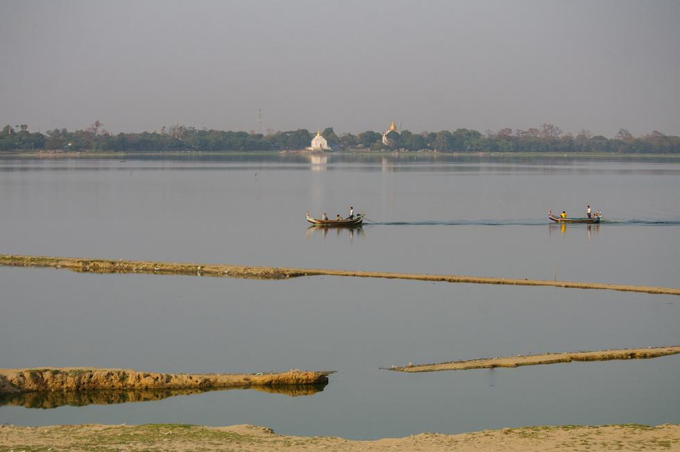 Đi Mandalay ngắm hoàng hôn ở cầu U Bein - Ảnh 5.