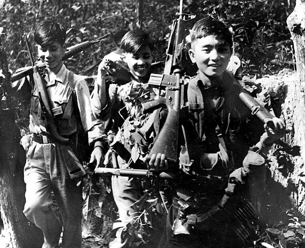 Bộ ảnh đặc biệt năm Mậu Thân 1968 của quân đội Mỹ - Ảnh 4.
