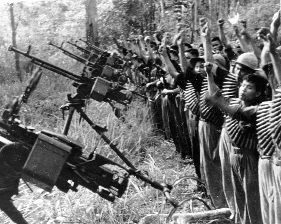 Bộ ảnh đặc biệt năm Mậu Thân 1968 của quân đội Mỹ - Ảnh 1.