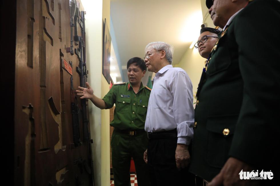 Tổng bí thư thăm hầm chứa vũ khí đánh dinh Độc Lập năm 1968 - Ảnh 10.