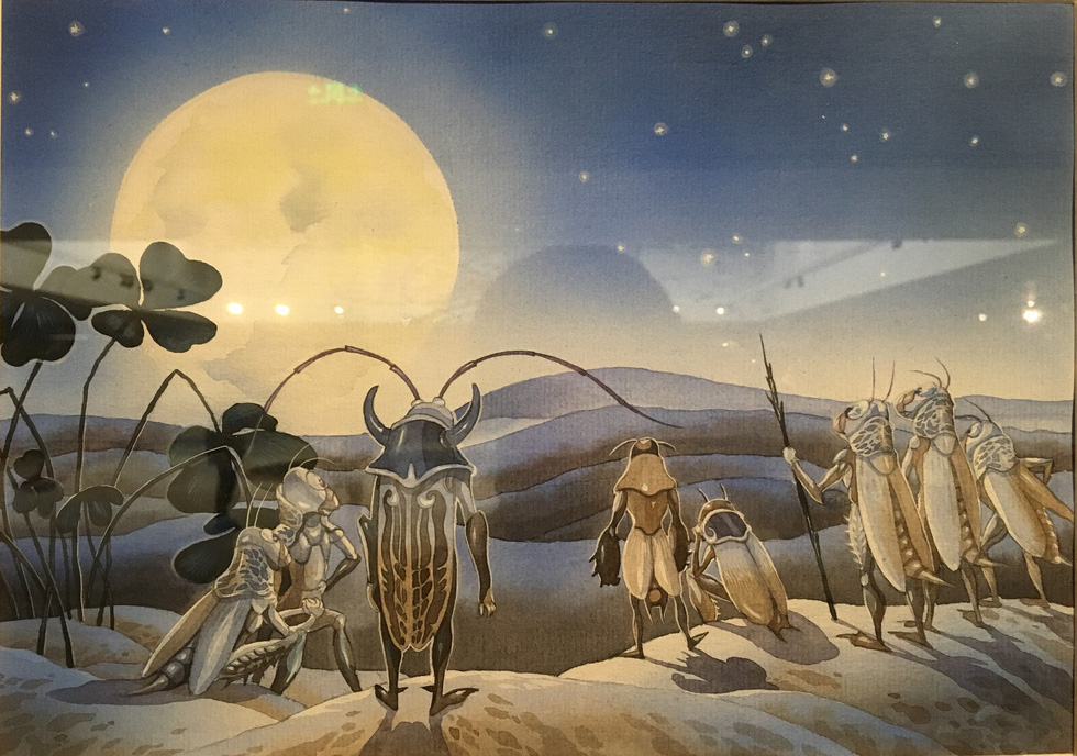 Chạm tới những thế giới của Dế Mèn phiêu lưu ký - Ảnh 14.