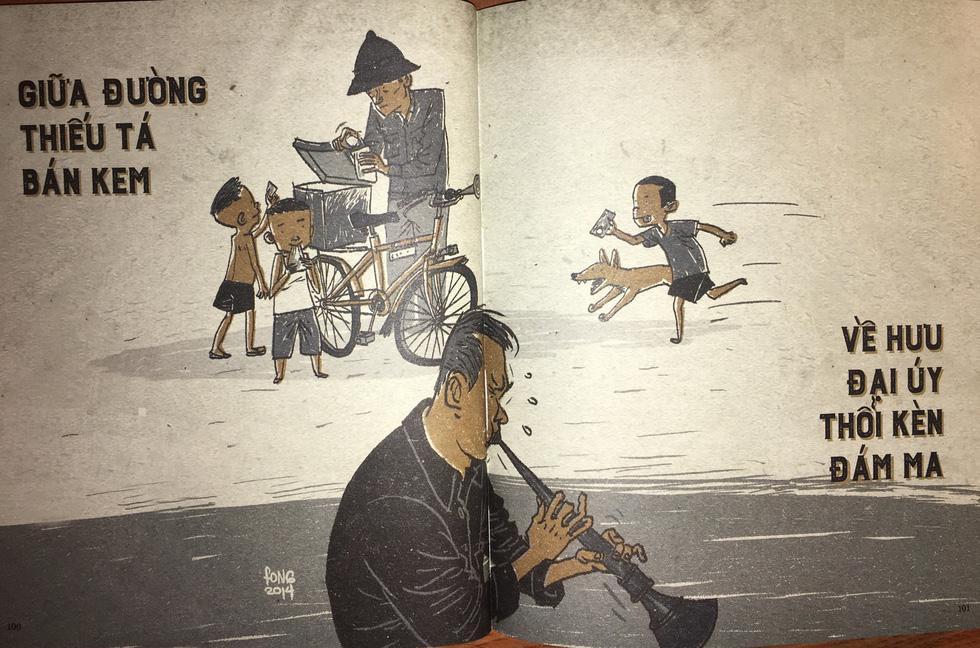 Thương nhớ thời bao cấp - sách tranh của Thành Phong và Hữu Khoa - Ảnh 14.