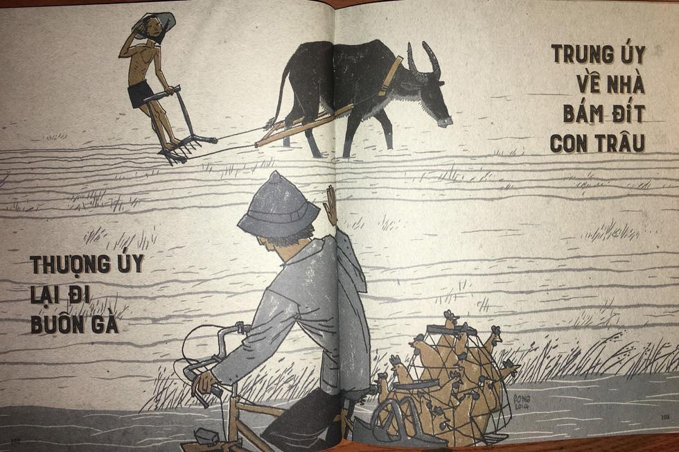 Thương nhớ thời bao cấp - sách tranh của Thành Phong và Hữu Khoa - Ảnh 15.