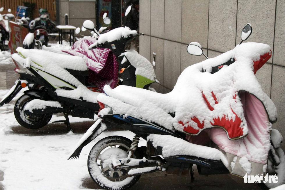 Tuyết phủ trắng nơi U23 Việt Nam đá trận chung kết lịch sử - Ảnh 12.