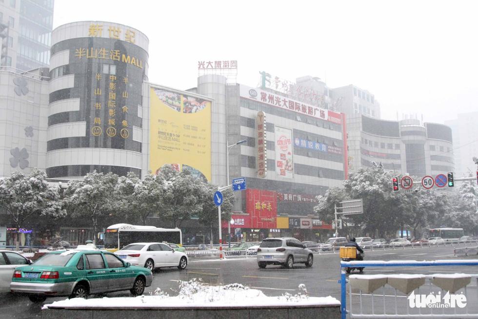 Tuyết phủ trắng nơi U23 Việt Nam đá trận chung kết lịch sử - Ảnh 16.