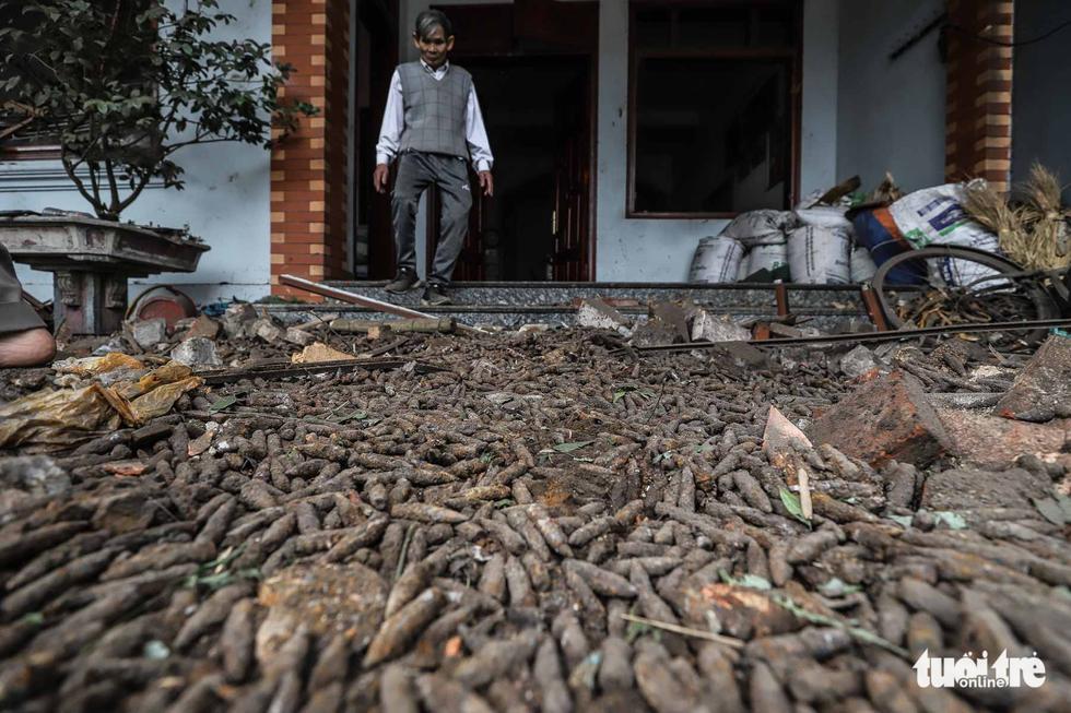Hiện trường kinh hoàng vụ nổ kho phế liệu ở Bắc Ninh - Ảnh 17.