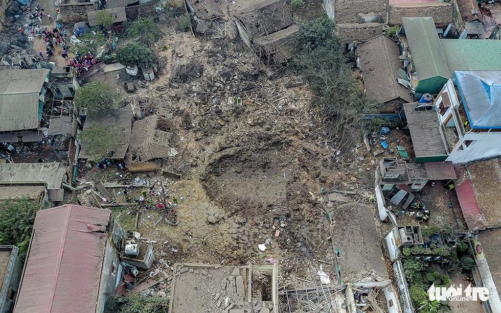 Hiện trường kinh hoàng vụ nổ kho phế liệu ở Bắc Ninh - Ảnh 3.
