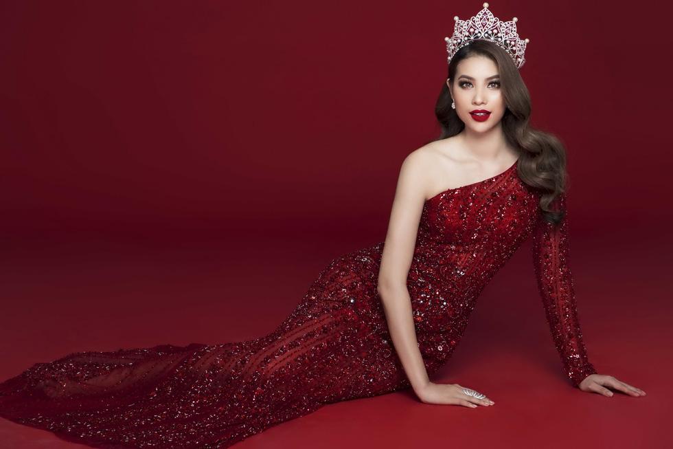 Phạm Hương với bộ ảnh chia tay vương miện Hoa hậu Hoàn vũ - Ảnh 3.