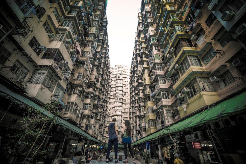Montane Mansion - chung cư nhìn mỏi cổ ở Hong Kong - Ảnh 5.