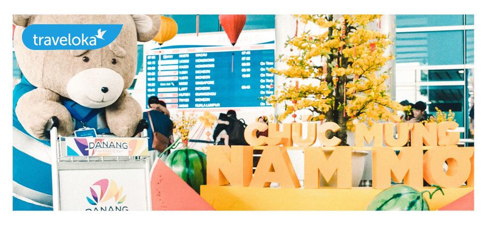 Gia đình gấu mập dễ thương làm xôn xao sân bay Đà Nẵng - Ảnh 4.