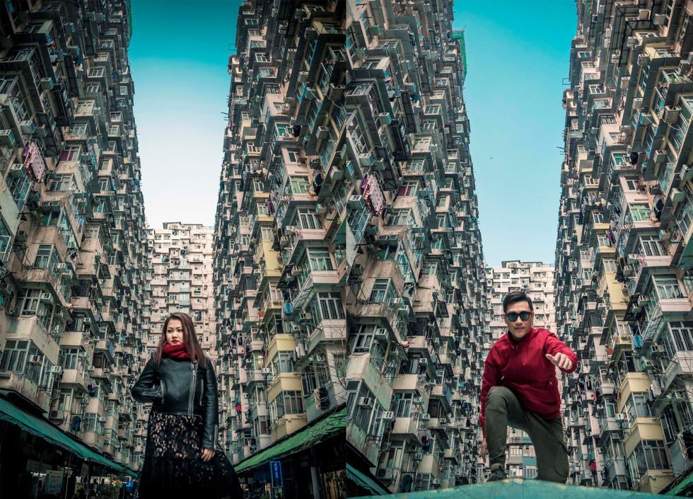 Montane Mansion - chung cư nhìn mỏi cổ ở Hong Kong - Ảnh 6.