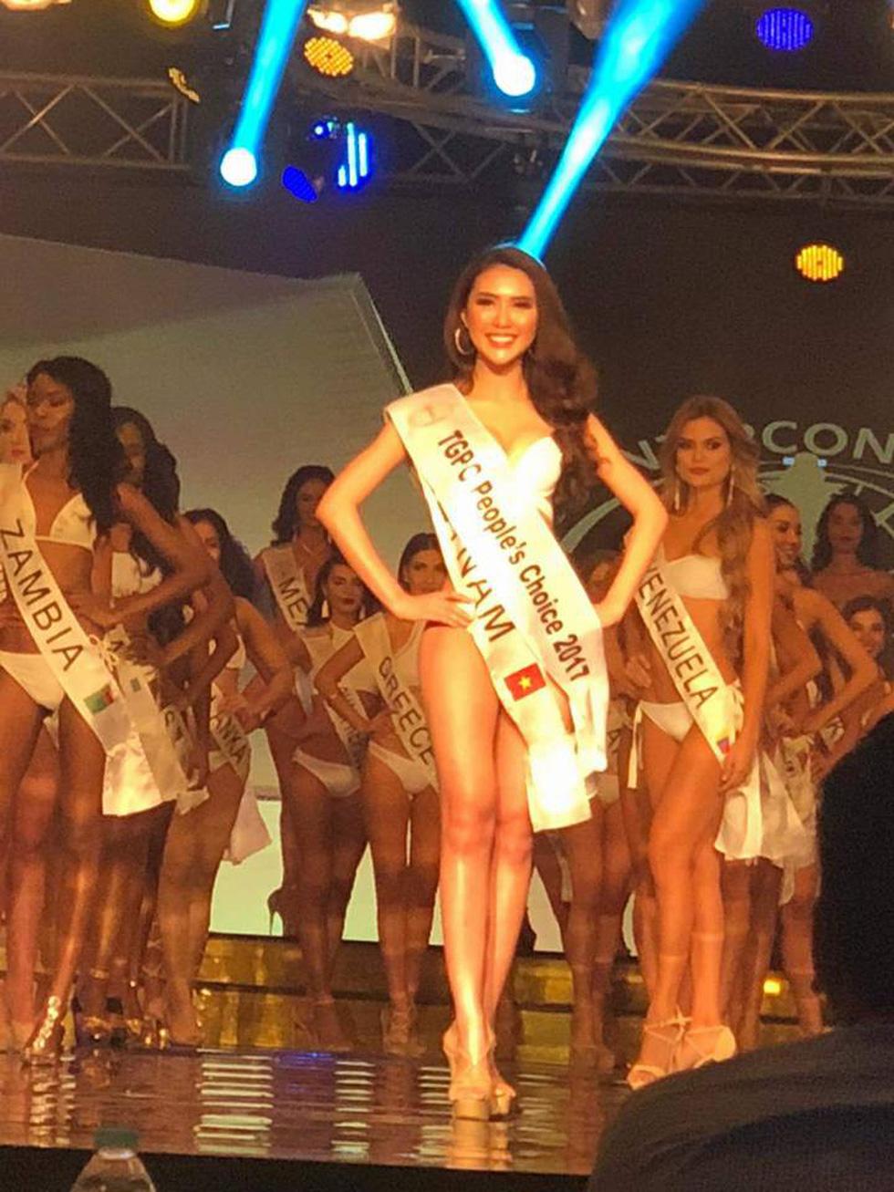 Tường Linh đoạt giải Hoa hậu được yêu thích nhất - Ảnh 3.