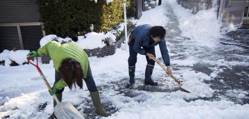 Bão tuyết, núi lửa cùng tấn công nước Nhật trong một ngày - Ảnh 7.