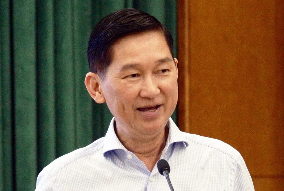 Phó chủ tịch UBND TP.HCM Trần Vĩnh Tuyến