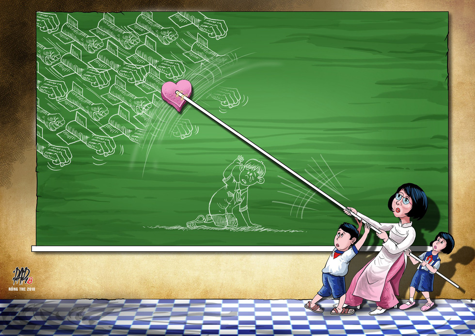 Ám ảnh với văn hóa ứng xử trên mạng qua tranh biếm họa Rồng Tre - Ảnh 3.
