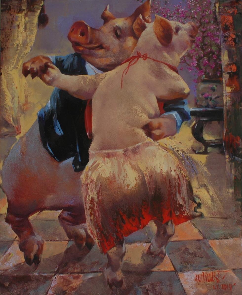 Bùi Xuân Phái - người khai mở dòng tranh con giáp - Ảnh 11.