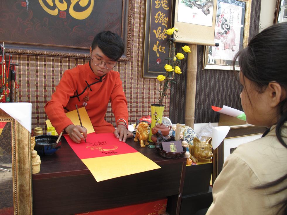 Tết Việt ở Nhà văn hóa Thanh niên TP.HCM nhiều màu sắc - Ảnh 3.