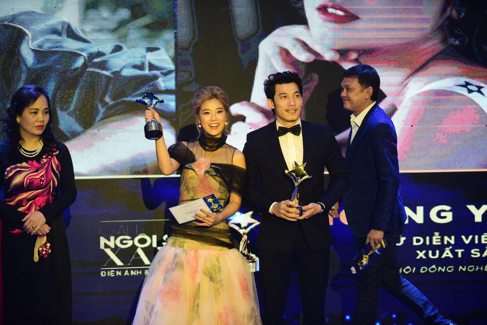 Hoàng Yến Chibi, Trường Giang, Huỳnh Lập... đoạt giải Ngôi sao xanh - Ảnh 5.