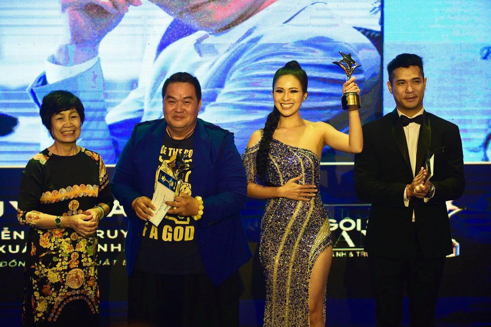 Hoàng Yến Chibi, Trường Giang, Huỳnh Lập... đoạt giải Ngôi sao xanh - Ảnh 9.