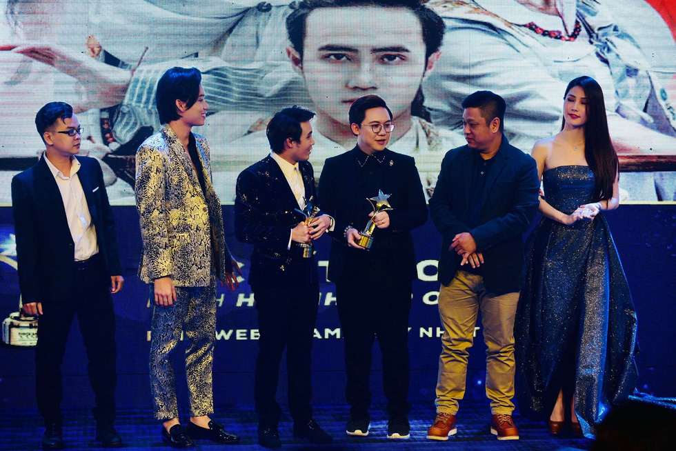 Hoàng Yến Chibi, Trường Giang, Huỳnh Lập... đoạt giải Ngôi sao xanh - Ảnh 12.