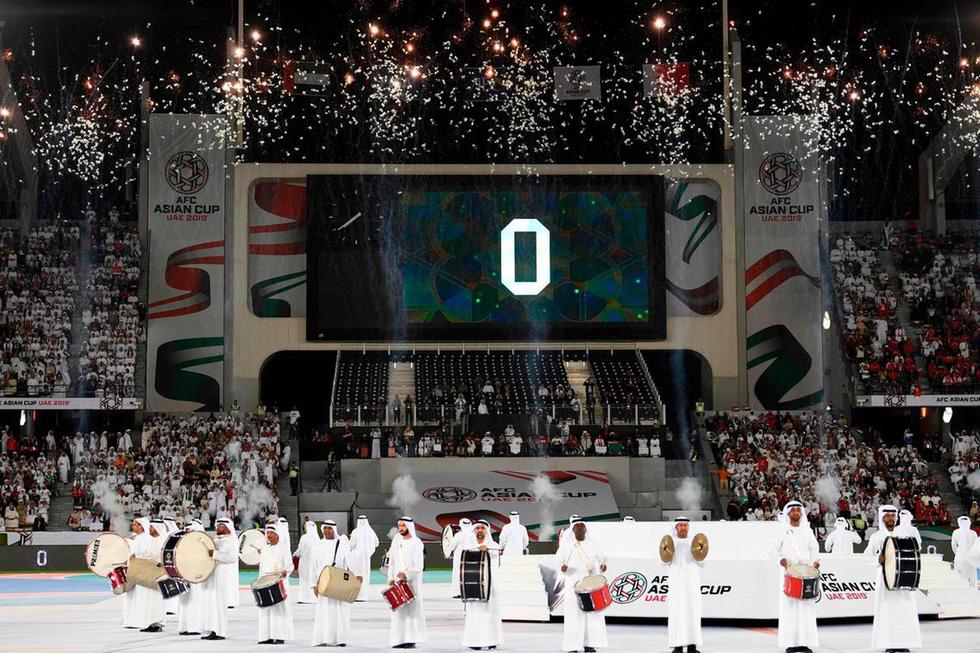 Lễ khai mạc Asian Cup 2019: Đơn giản nhưng hoành tráng - Ảnh 4.