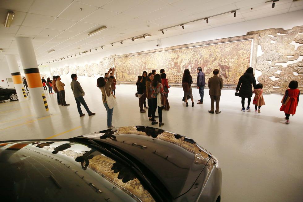 Không gian nghệ thuật trong Nhà Quốc hội - Ảnh 2.