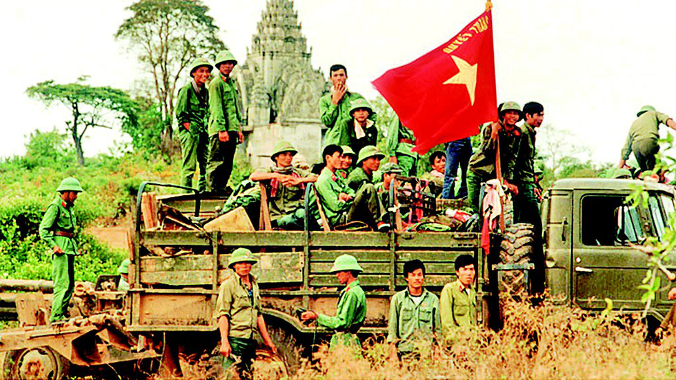 Đại tướng Lê Đức Anh - Tà Sáu Việt Nam của nhân dân Campuchia - Ảnh 3.