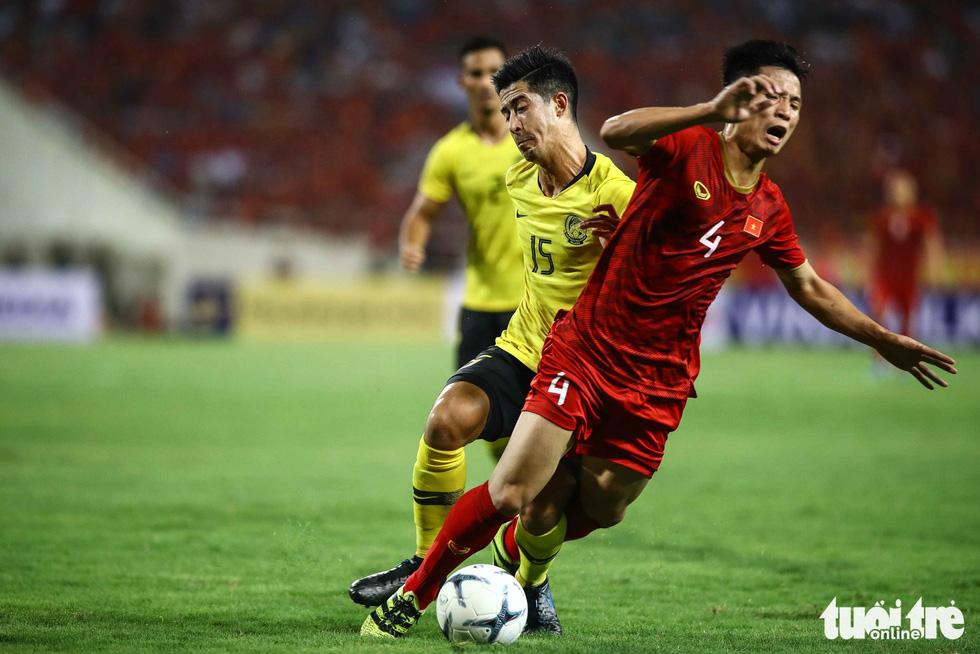 Chùm ảnh ấn tượng trận Việt Nam - Malaysia 1-0 - Ảnh 9.
