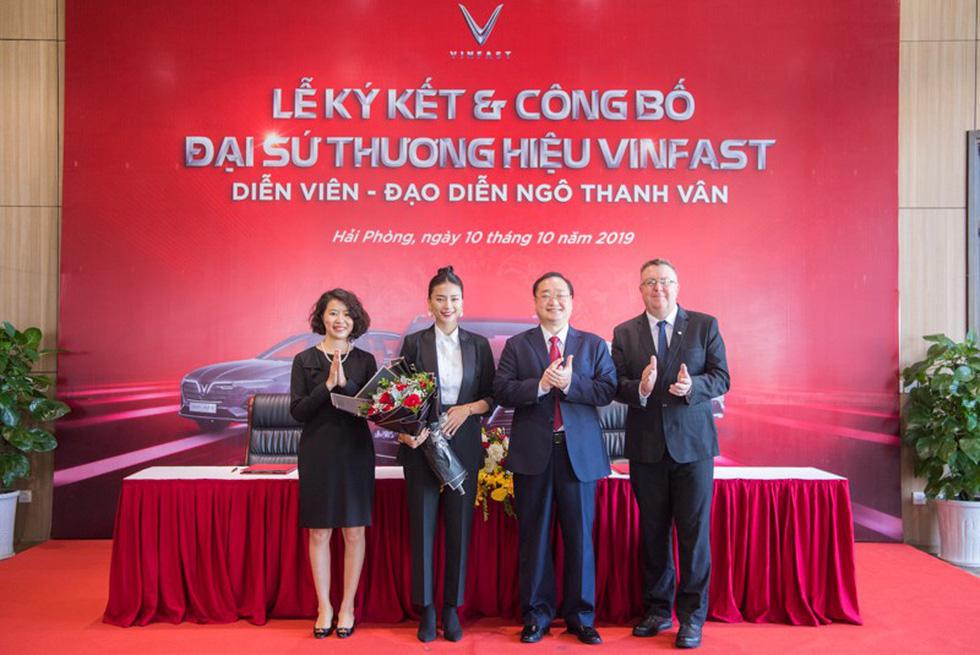 VinFast công bố diễn viên điện ảnh Ngô Thanh Vân làm đại sứ thương hiệu - Ảnh 2.