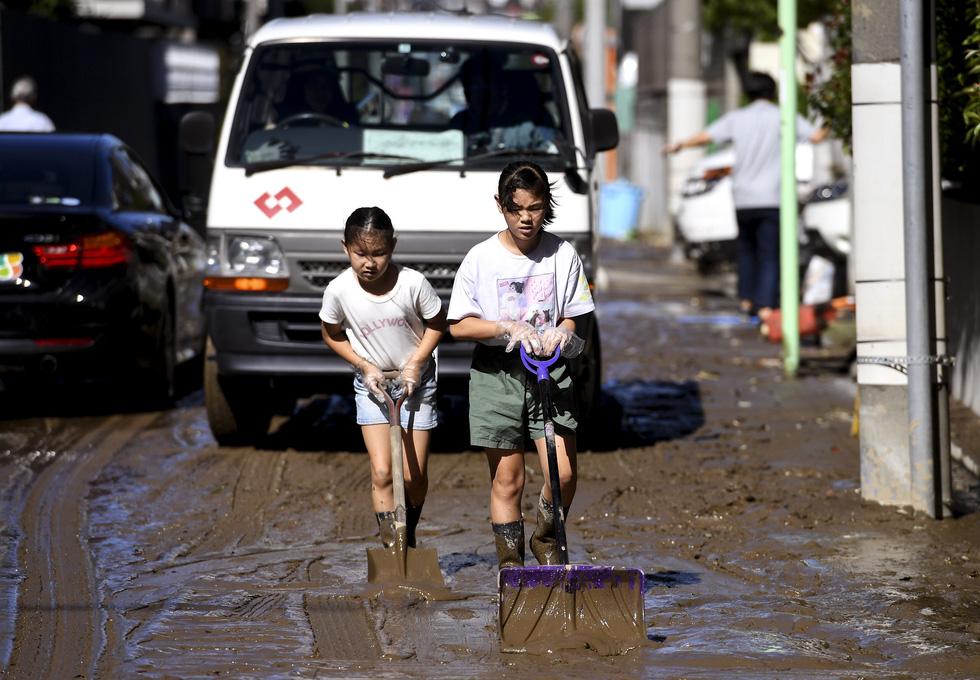 Người già, người trẻ Nhật không ai than khóc với thảm họa Hagibis - Ảnh 11.