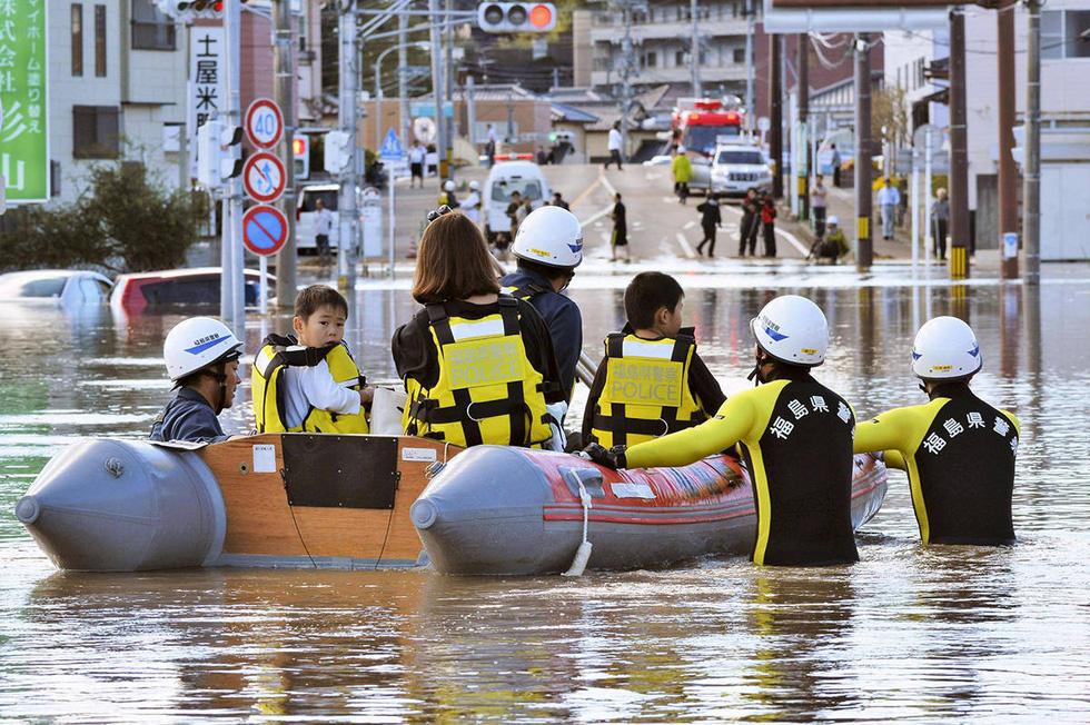 Người già, người trẻ Nhật không ai than khóc với thảm họa Hagibis - Ảnh 6.