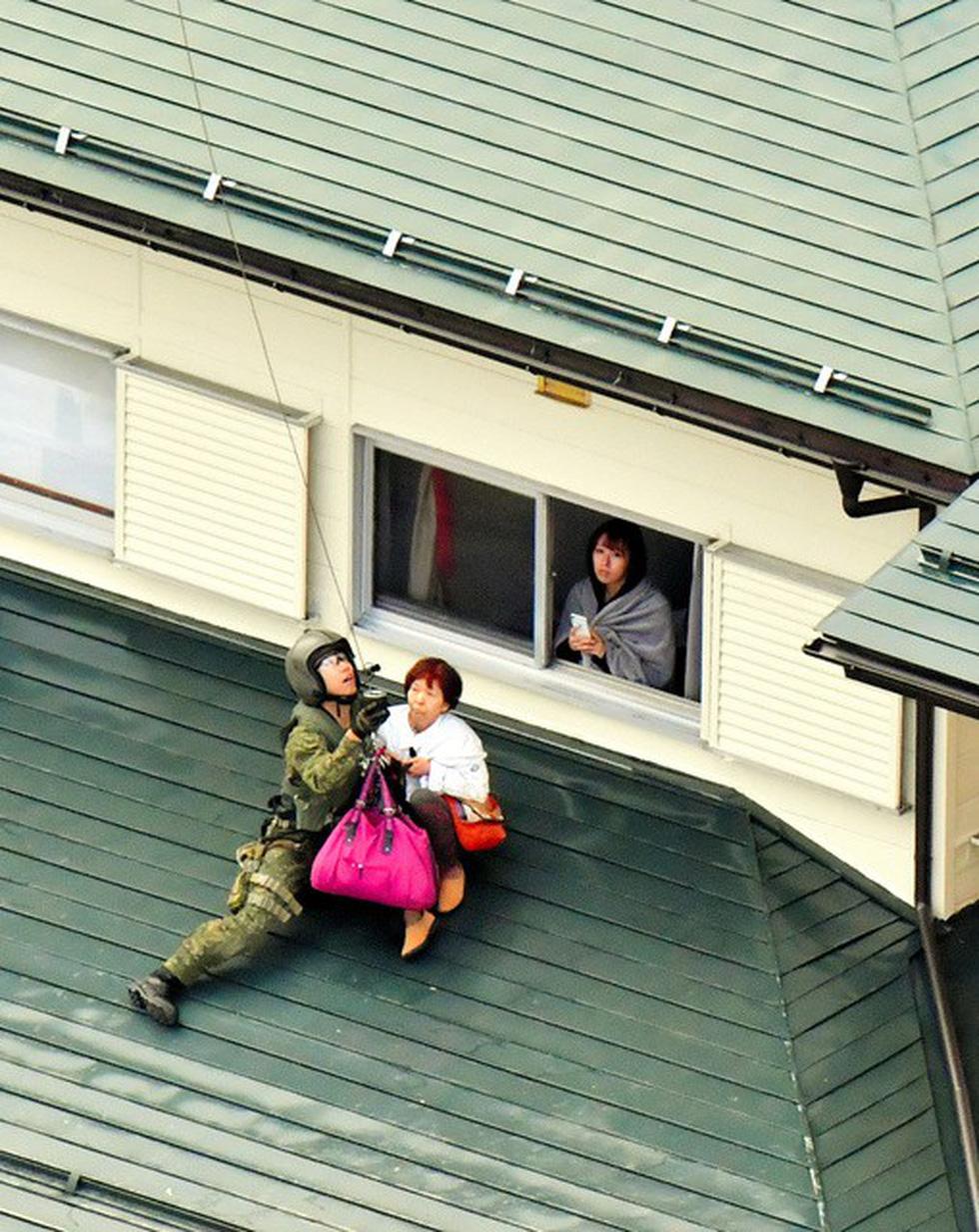 Người già, người trẻ Nhật không ai than khóc với thảm họa Hagibis - Ảnh 5.