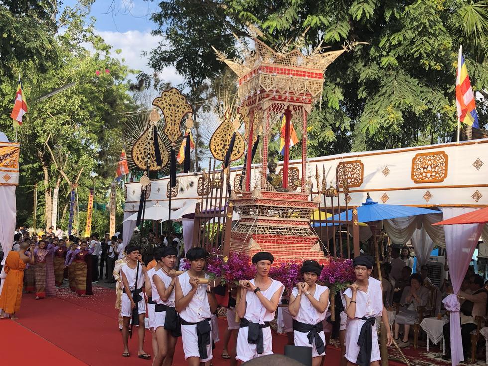 5 nước dọc Mekong giao lưu Phật giáo vì 'hoà bình khu vực' - Ảnh 5.