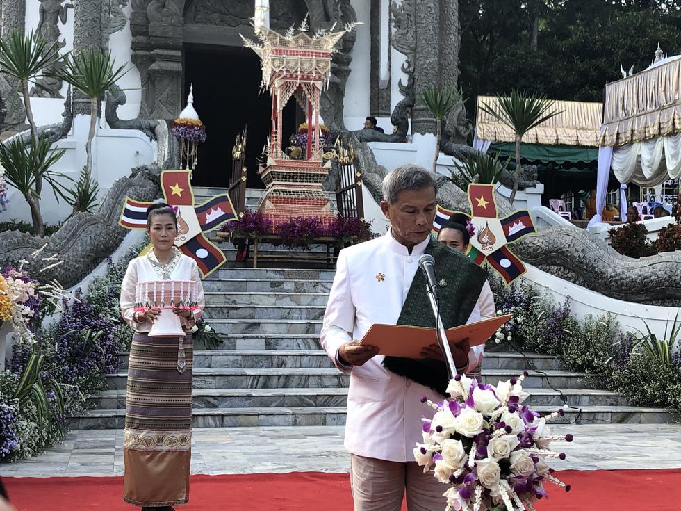 5 nước dọc Mekong giao lưu Phật giáo vì 'hoà bình khu vực' - Ảnh 3.