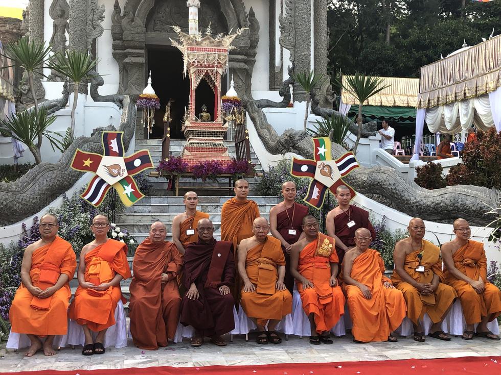 5 nước dọc Mekong giao lưu Phật giáo vì 'hoà bình khu vực' - Ảnh 1.